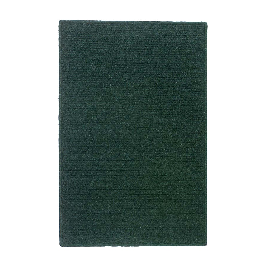 Colonial Mills Courtyard Square Green Solid Area Rug (Common: 12-ft x 12-ft; Actual: 12-ft x 12-ft)