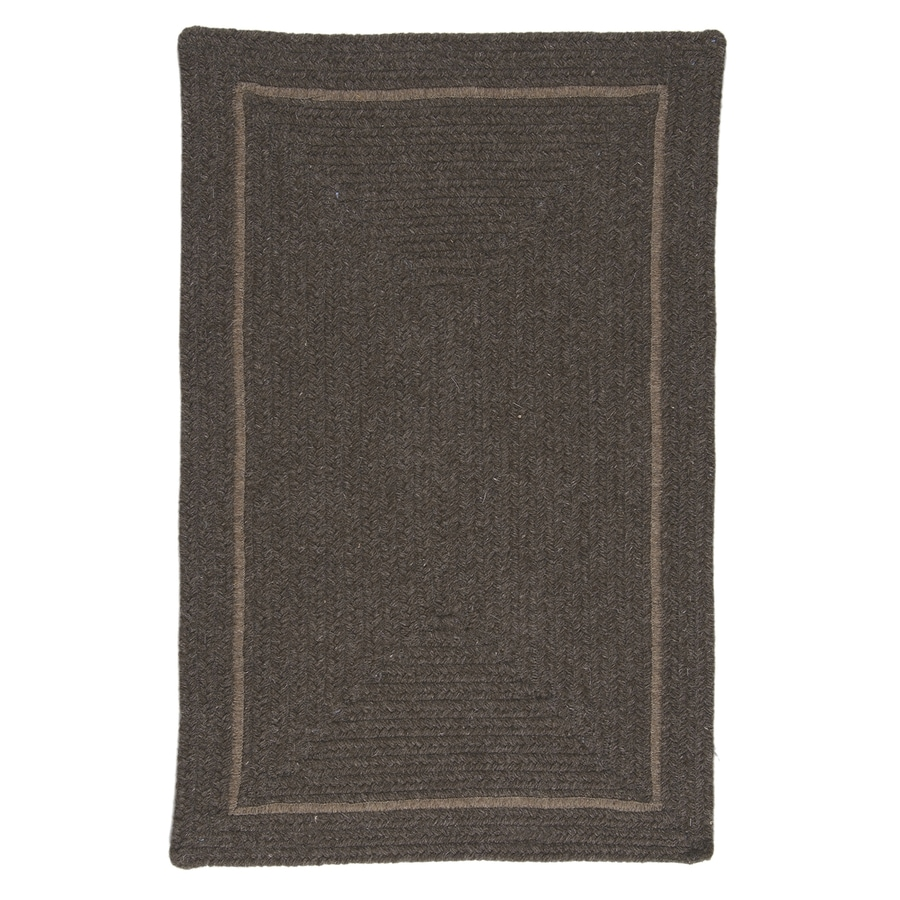 Colonial Mills Shear Natural Rural Earth Rectangular Indoor Braided Throw Rug (Common: 2 x 3; Actual: 2-ft W x 3-ft L)