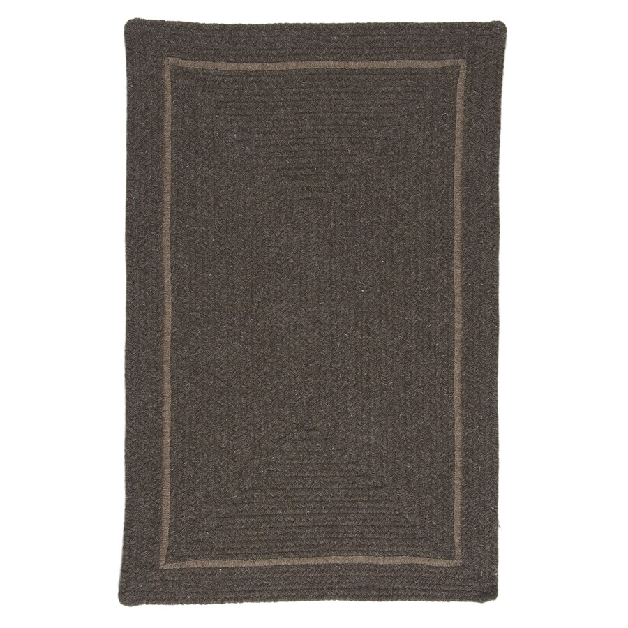 Colonial Mills Shear Natural Rural Earth Rectangular Indoor Braided Area Rug (Common: 4 x 6; Actual: 4-ft W x 6-ft L)