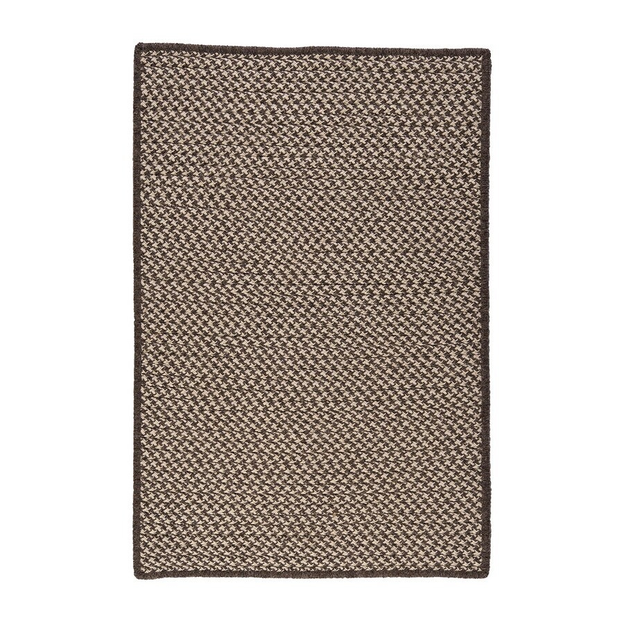 Colonial Mills Square Multicolor with Multicolor Border Wool Area Rug (Common: 6-ft x 6-ft; Actual: 6-ft x 6-ft)