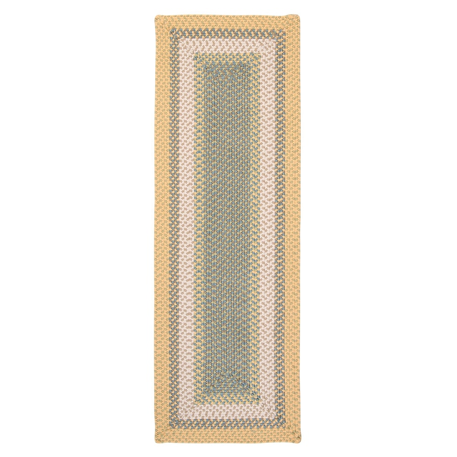 Colonial Mills Montego Sundance Rectangular Indoor/Outdoor Braided Runner (Common: 2 x 6; Actual: 2-ft W x 6-ft L)