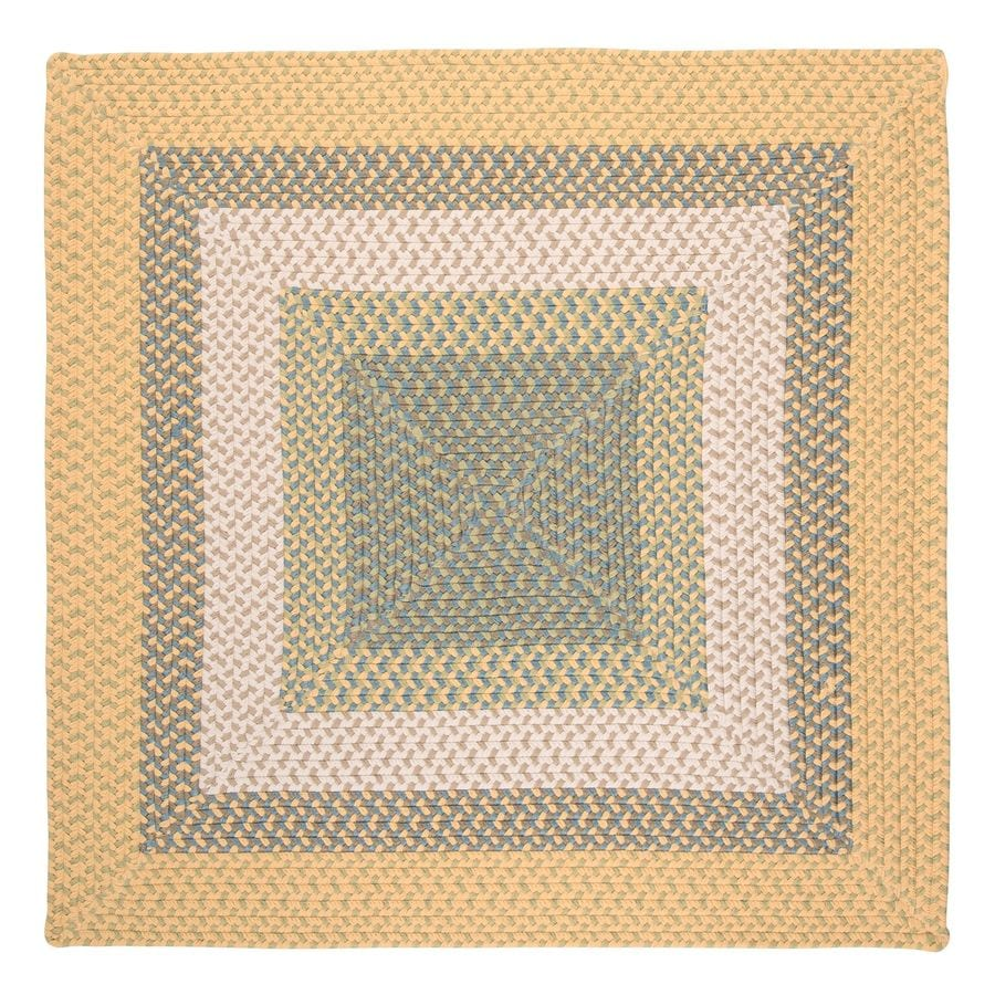 Indoor Outdoor Rugs Square: Shop Colonial Mills Montego Sundance Square Indoor/Outdoor