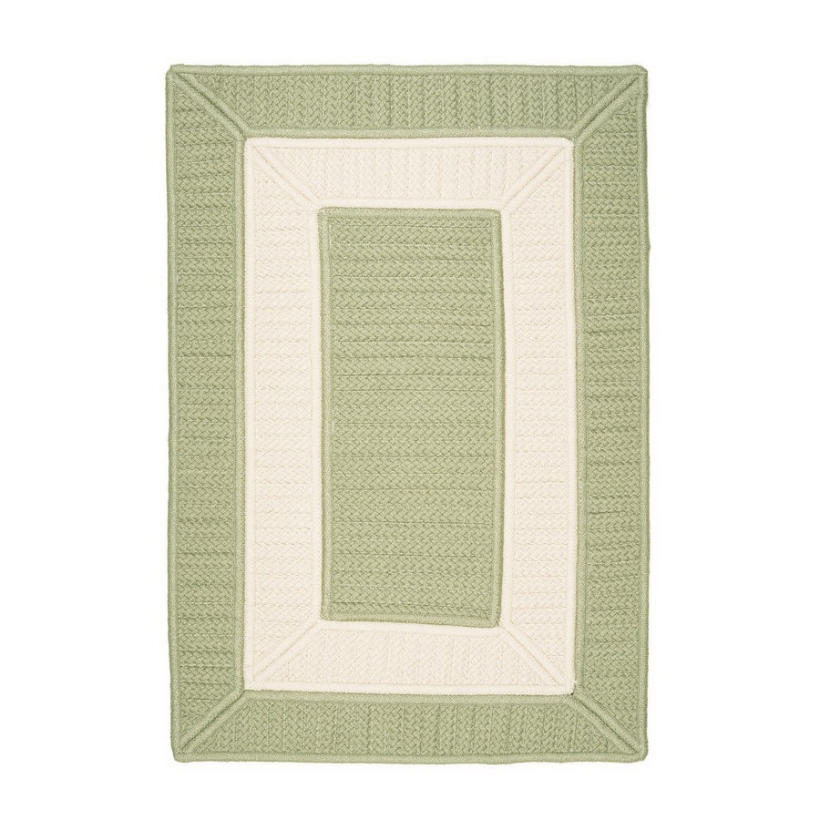 Colonial Mills Parkview 4-ft x 4-ft Square Multicolor Geometric Indoor/Outdoor Area Rug