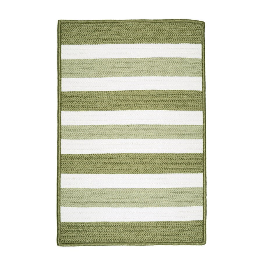 Colonial Mills Portico Square Multicolor Geometric Indoor/Outdoor Area Rug (Common: 8-ft x 8-ft; Actual: 8-ft x 8-ft)