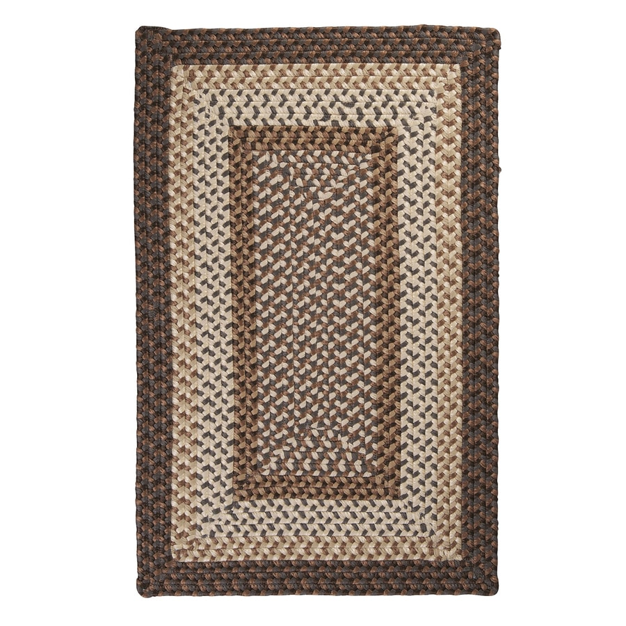 Colonial Mills Tiburon Dockside Square Indoor/Outdoor Braided Area Rug (Common: 4 x 4; Actual: 4-ft W x 4-ft L)