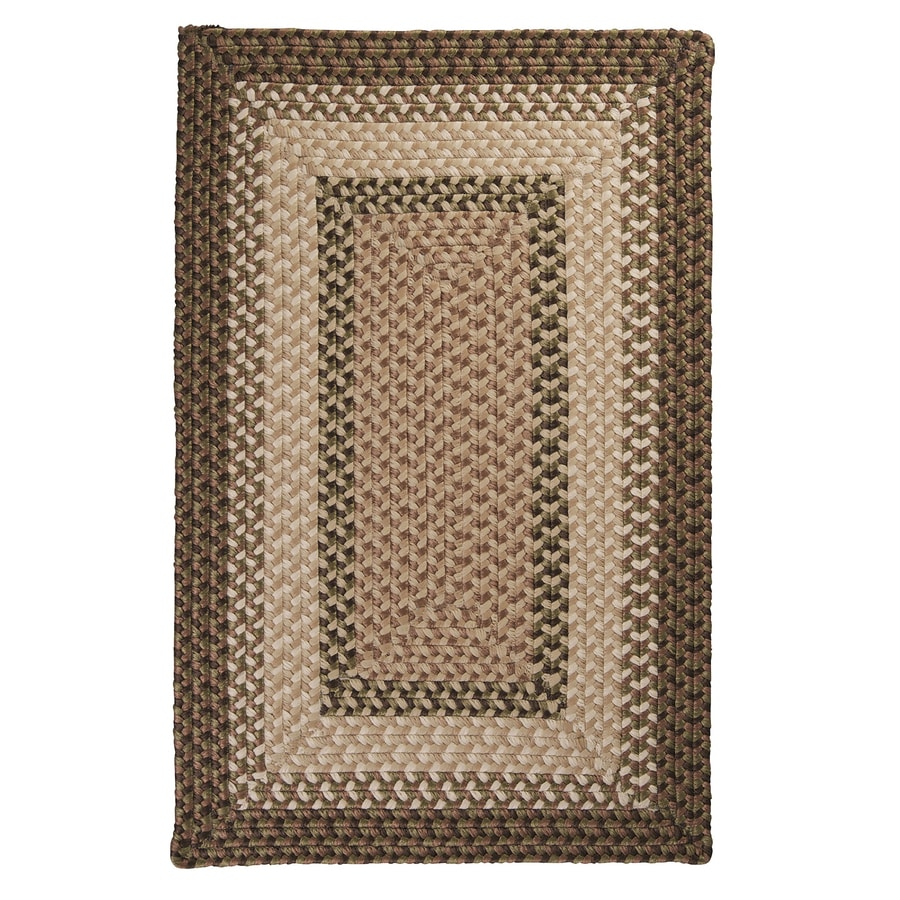 Colonial Mills Tiburon Spruce Green Rectangular Indoor/Outdoor Braided Area Rug (Common: 12 x 15; Actual: 12-ft W x 15-ft L)