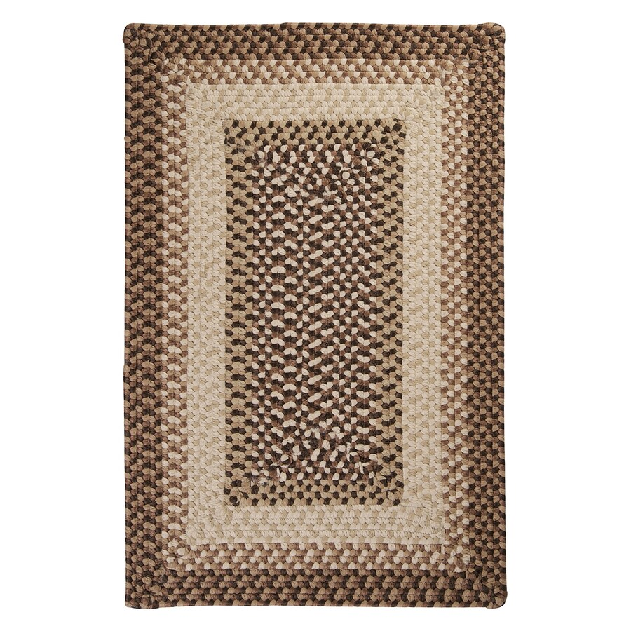 Colonial Mills Tiburon Sandstorm Rectangular Indoor/Outdoor Braided Throw Rug (Common: 2 x 3; Actual: 2-ft W x 3-ft L)
