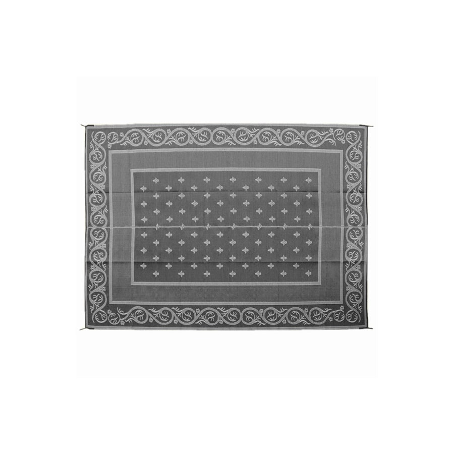 Patio Mats 108-in W x 72-in L Royal Black Anti-Fatigue Mat