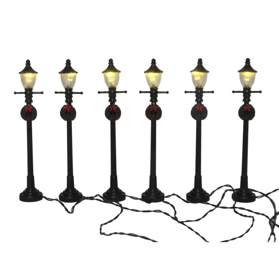 Carole Towne Yuletide Express Lighted Street Lamps