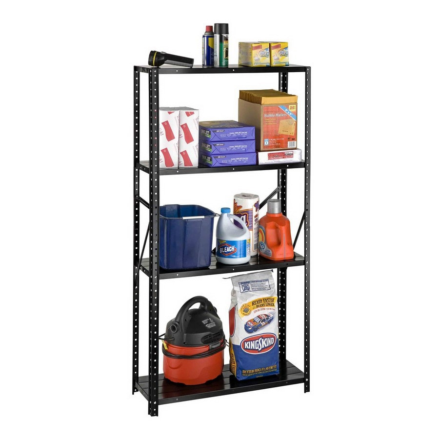 International Tool Storage 60-in H x 30-in W x 12-in D 4-Tier Steel Freestanding Shelving Unit