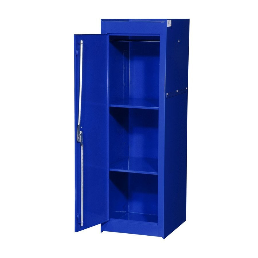 International Tool Storage Tech 15-in W x 51-in H x 24-in D Blue Steel Full Storage Locker