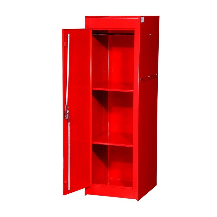 International Tool Storage Tech 15-in W x 51-in H x 24-in D Red Steel Full Storage Locker