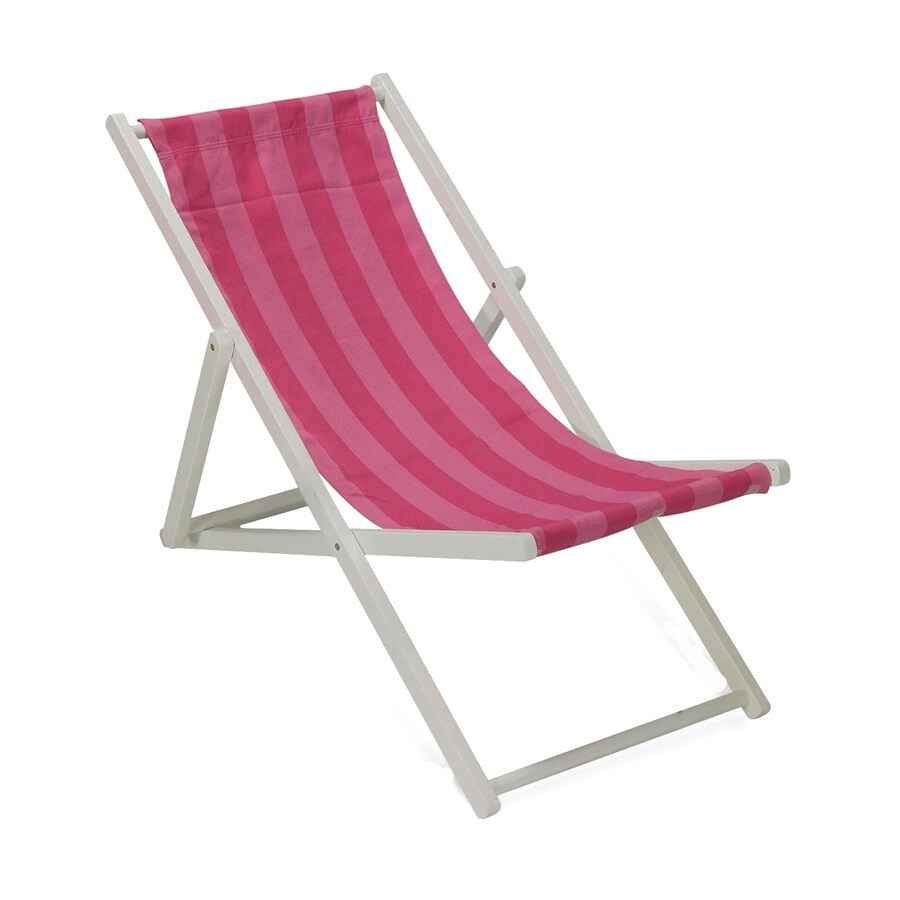 Twotree 1 Indoor/Outdoor Cabana Stripe Sling Beach Folding Chair