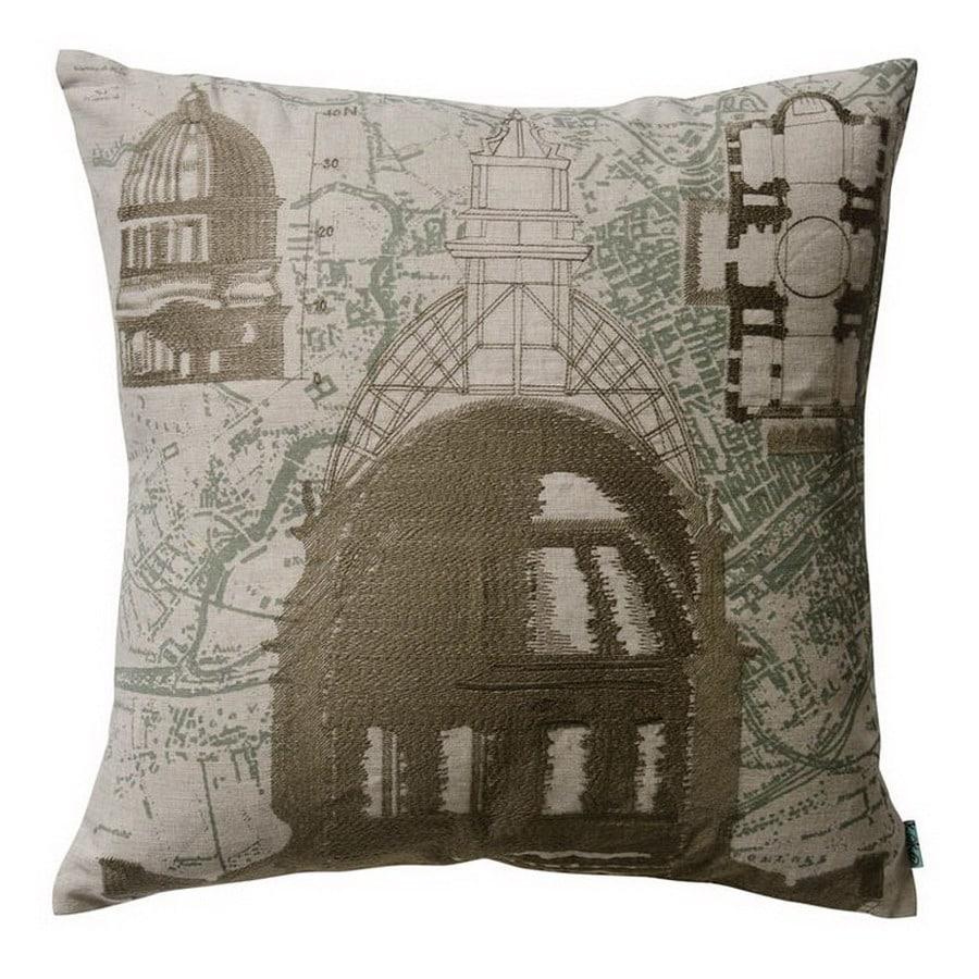 KOKO Company 18-in W x 18-in L Square Decorative Pillow