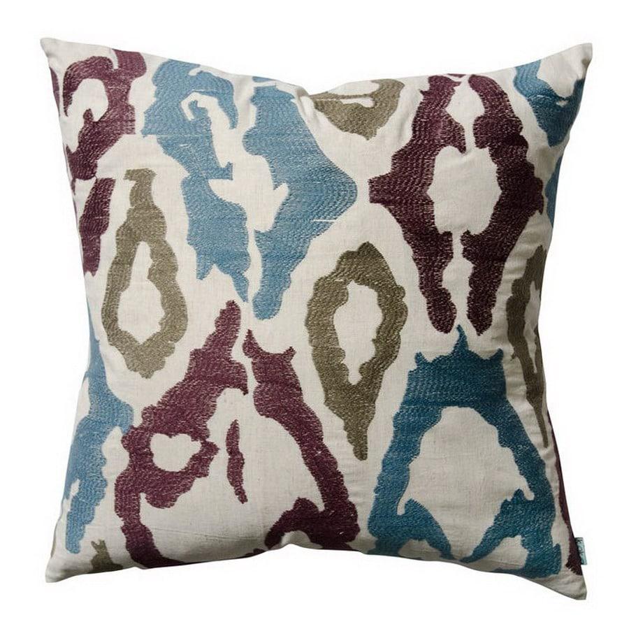 KOKO Company 20-in W x 20-in L Multicolored Square Decorative Pillow