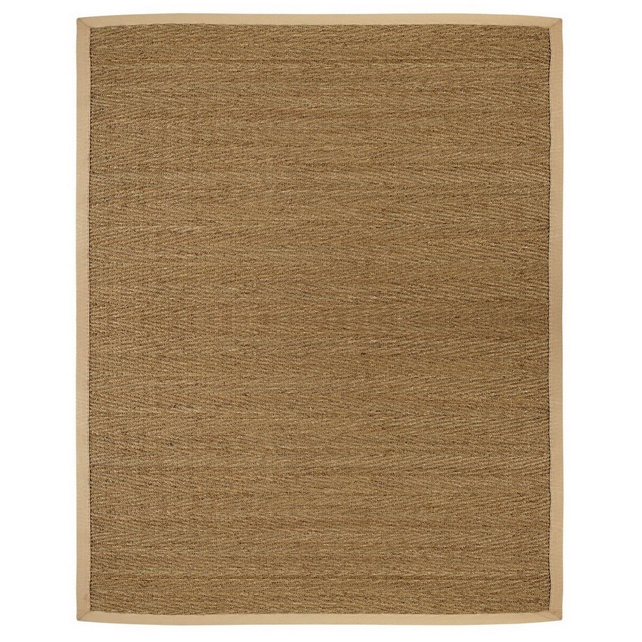 Anji Mountain Saddleback Rectangular Indoor Woven Oriental Area Rug (Common: 10 x 14; Actual: 120-in W x 168-in L)