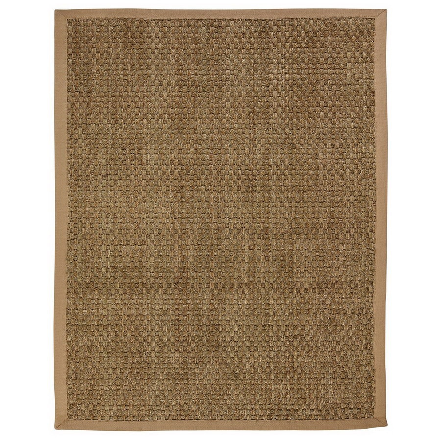Anji Mountain Moray Rectangular Indoor Woven Oriental Area Rug (Common: 8 x 10; Actual: 96-in W x 120-in L)