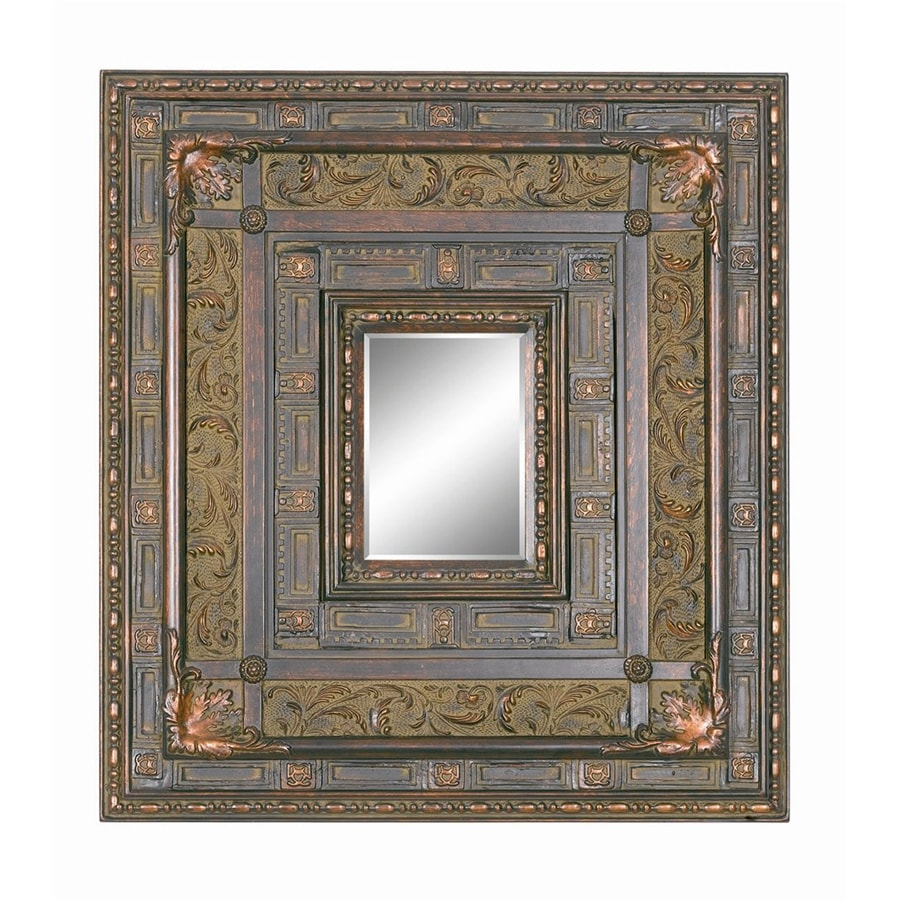 Shop Imagination 31 In X 29 In Antique Cherry Square Framed Wall