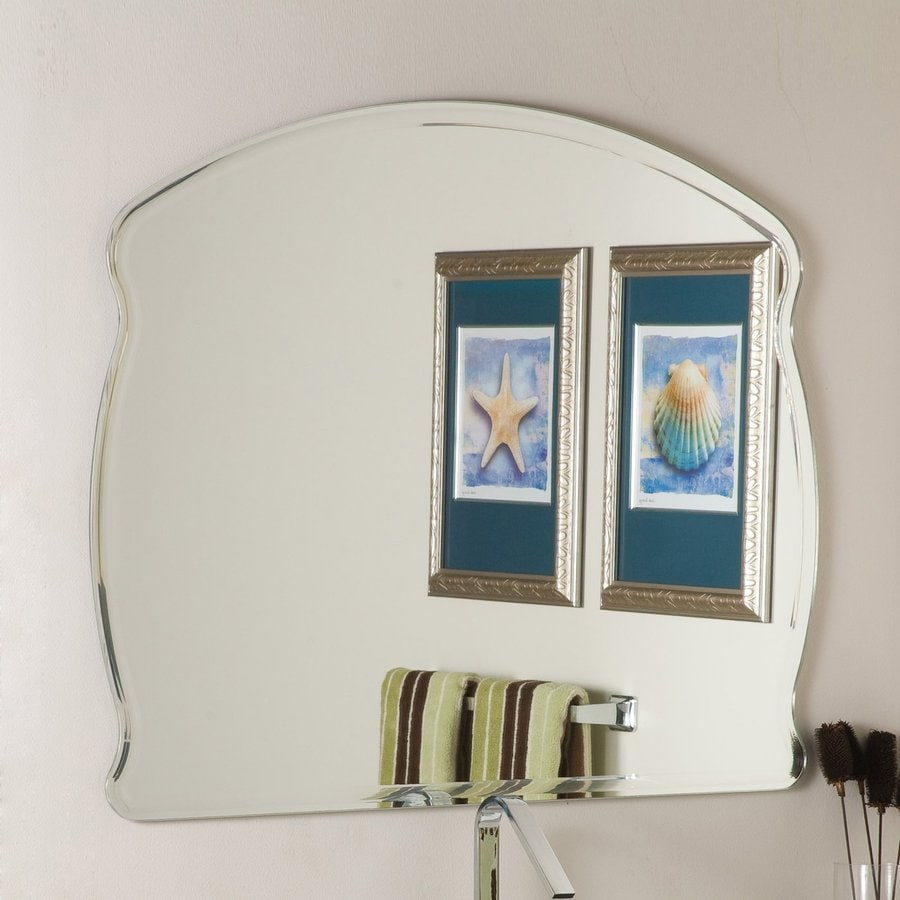 Shop Decor Wonderland 39 5 In X 31 5 In Frameless Bathroom