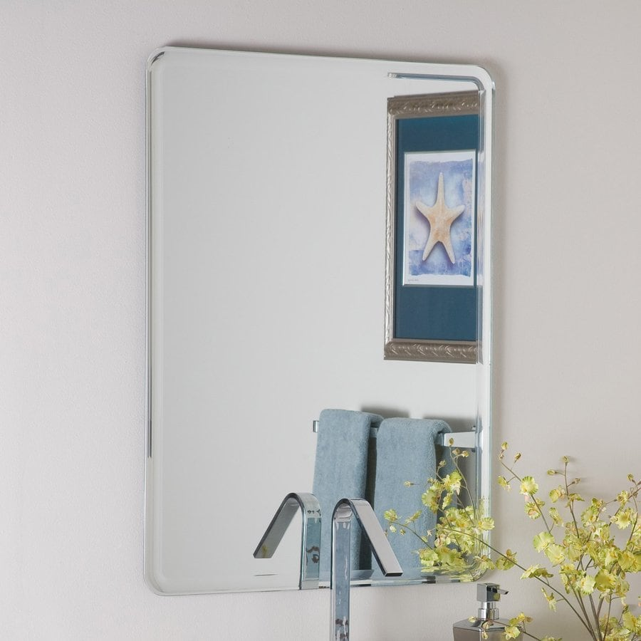 Shop Decor Wonderland Samson 23 6 In Rectangular Bathroom Mirror At