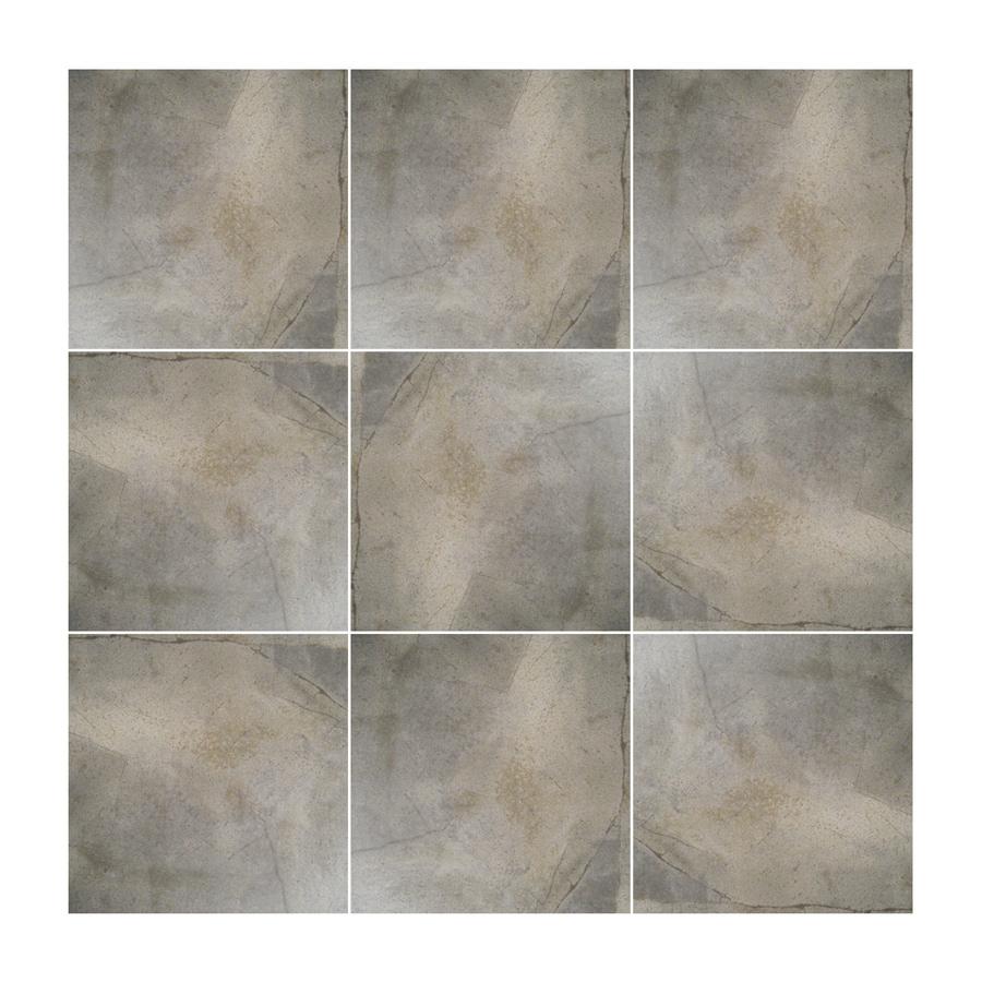 Surface Source 16 In X Rustic Brown Glazed Porcelain Floor Tile
