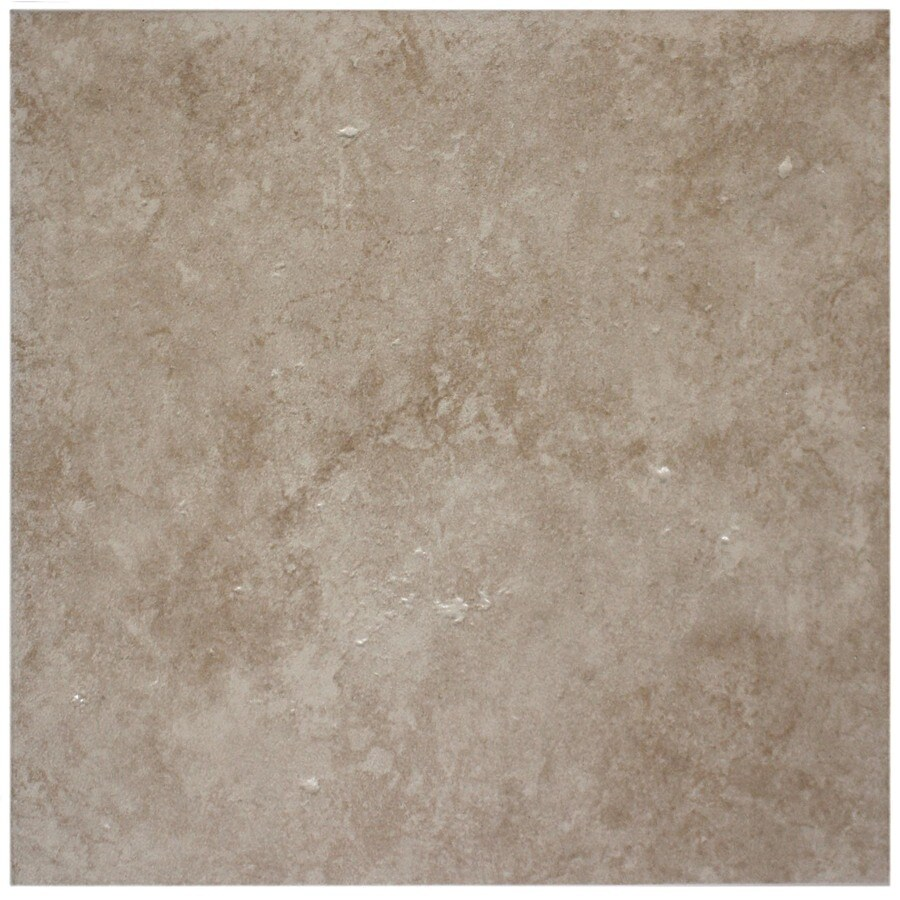 Shop style selections beige glazed porcelain floor tile common 12 style selections beige glazed porcelain floor tile common 12 in x 12 dailygadgetfo Images