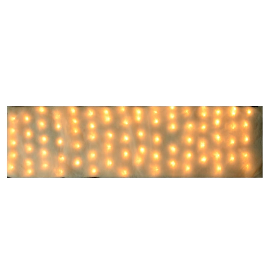 Holiday Living Pre-Lit Snow Blanket with Multi-Function White LED Lights