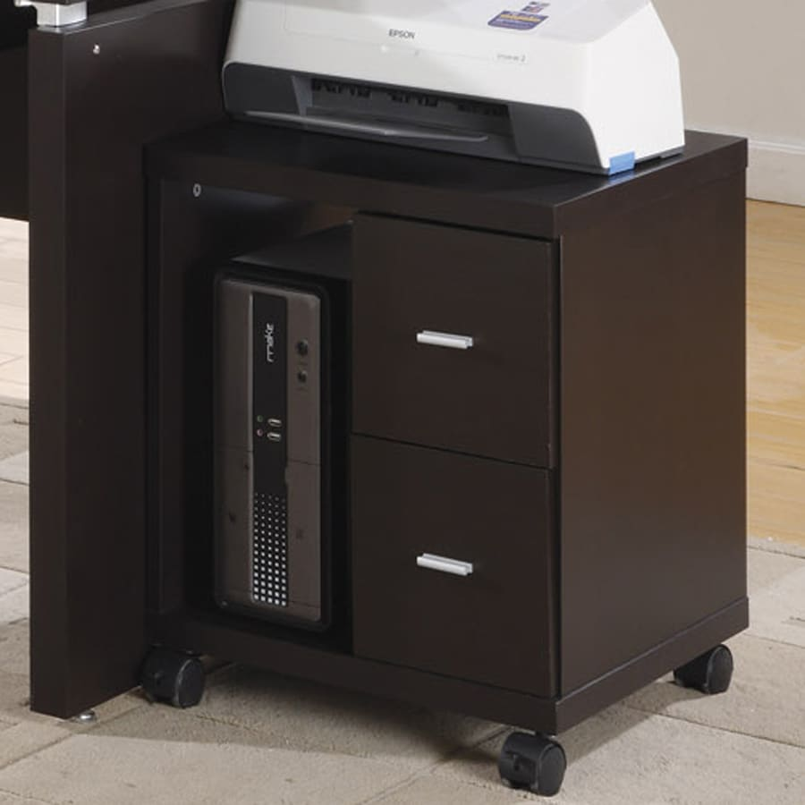 Monarch Specialties Cappuccino Printer Office Cart