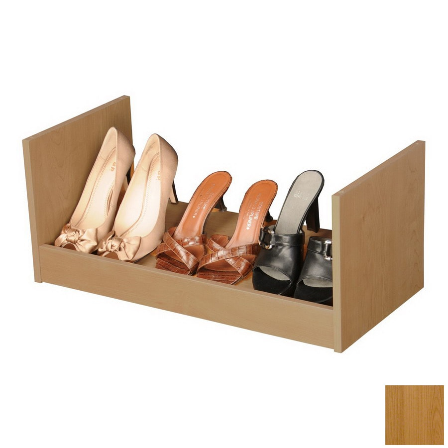 Rack-N-Cabinets Oak Wood Shoe Storage