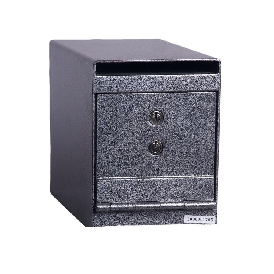 Hollon 0.23-cu ft Keyed Drop Box Safe