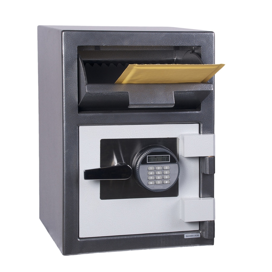 Hollon 1-cu ft Electronic/Keypad Drop Box Safe