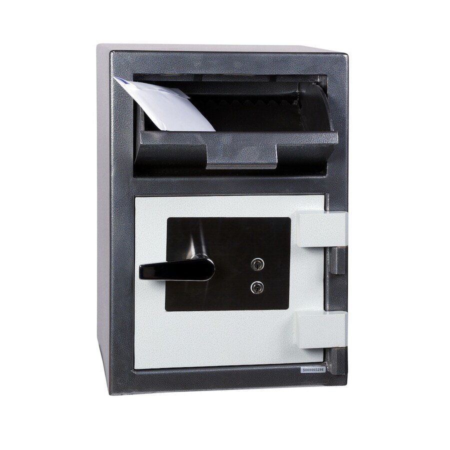 Hollon 1-cu ft Keyed Drop Box Safe