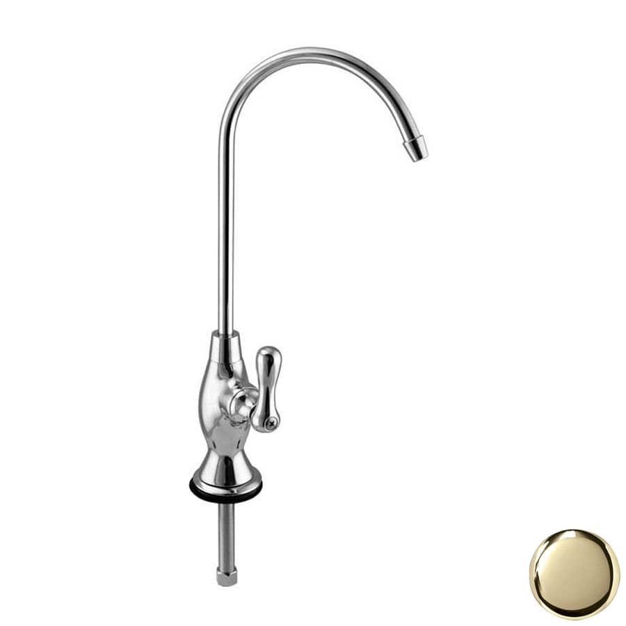 Westbrass Polished Brass Hot Water Dispenser with High-Arc Spout