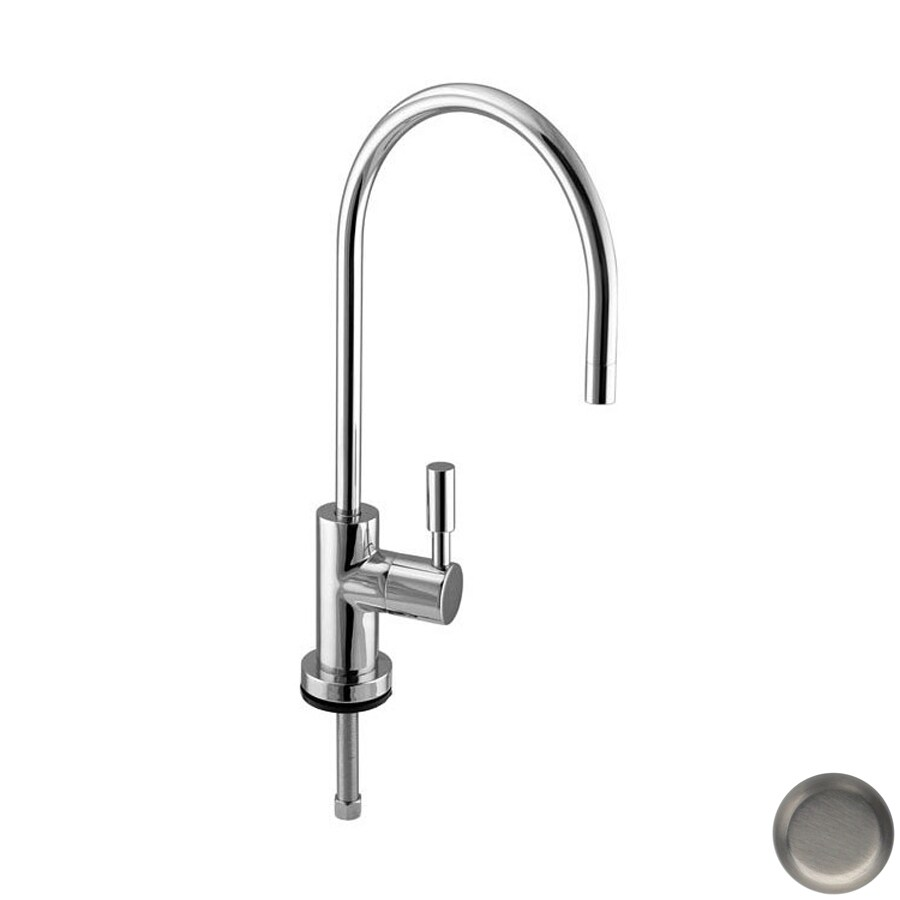 Westbrass Brushed Nickel Cold Water Dispenser with High Arc Spout