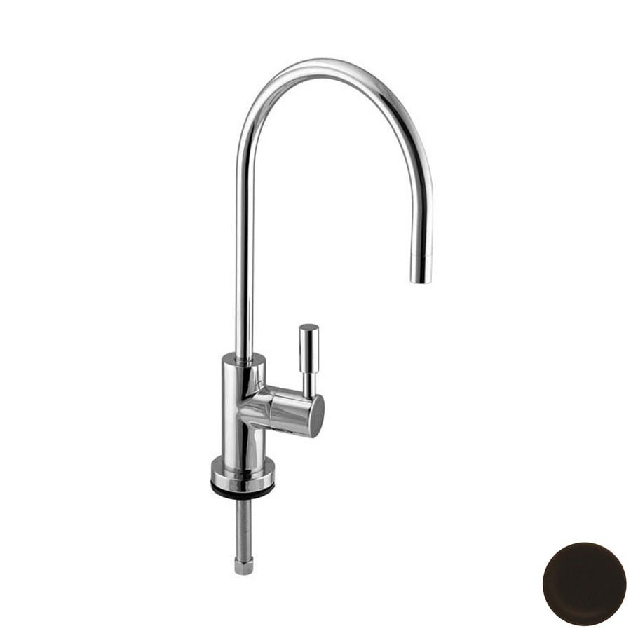 Westbrass Oil-Rubbed Bronze Cold Water Dispenser with High Arc Spout
