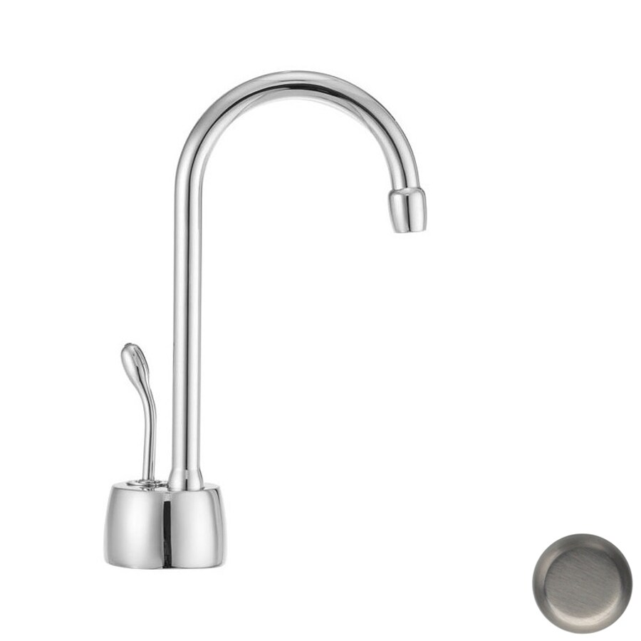 Westbrass Brushed Nickel Hot Water Dispenser with High Arc Spout