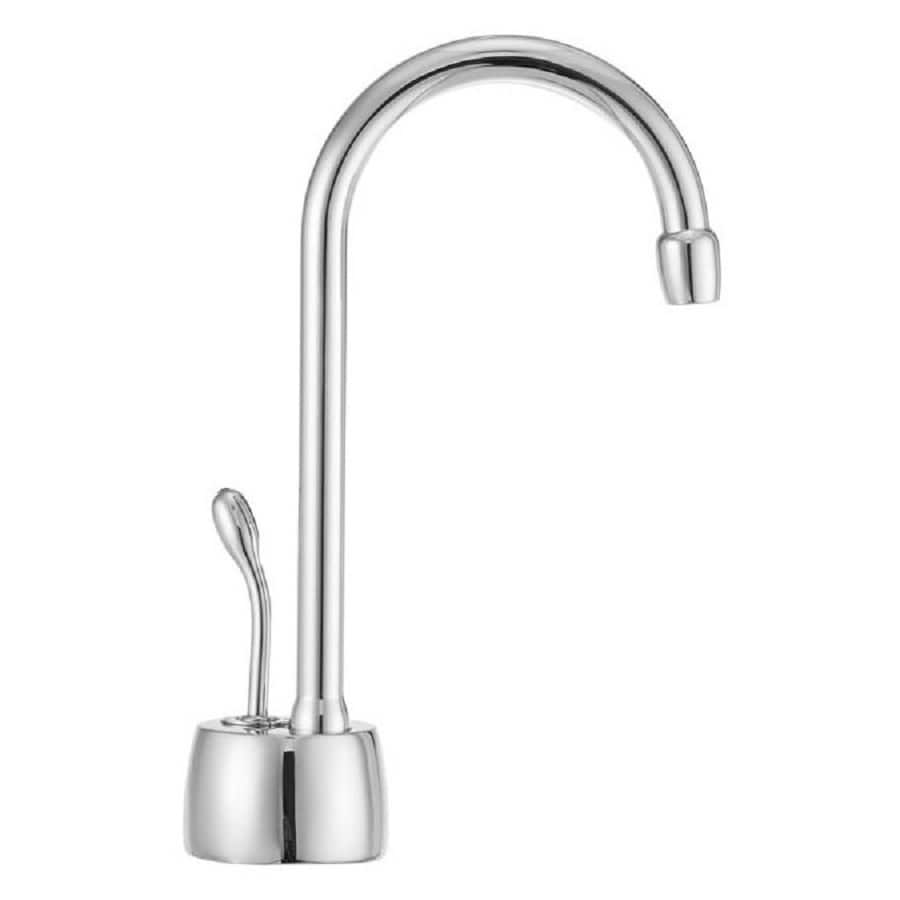 Westbrass Chrome Hot Water Dispenser with High Arc Spout