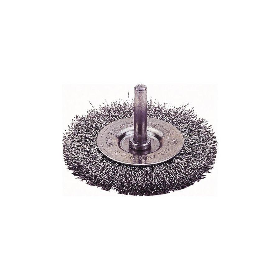 Firepower 3-in Dia Coarse Crimped Wire Wheel Brush