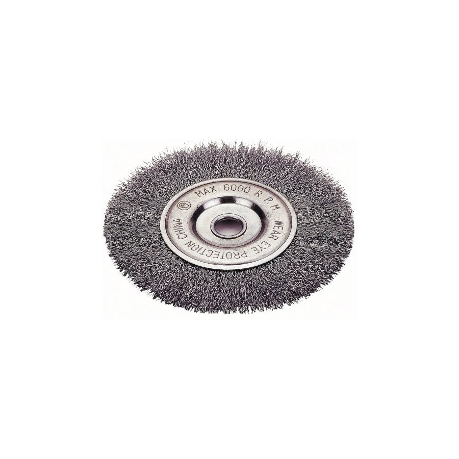 Firepower 8-in Dia Crimped Wheel Brush