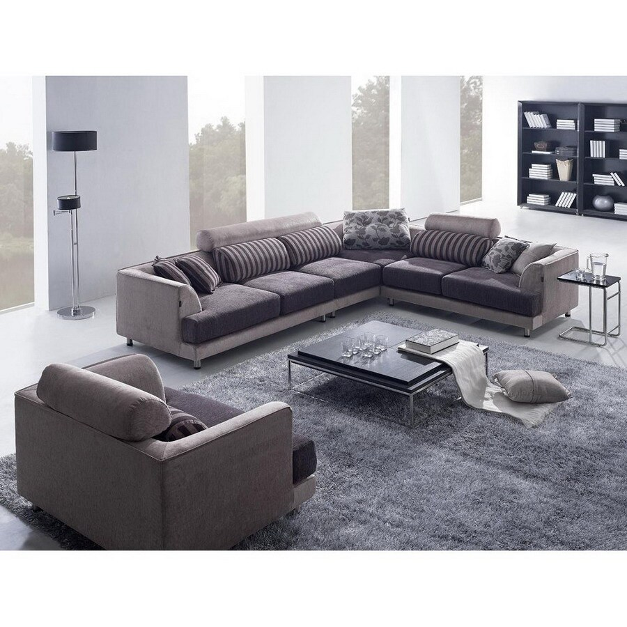 Shop Tosh Furniture 3 Piece Brown Living Room Set At