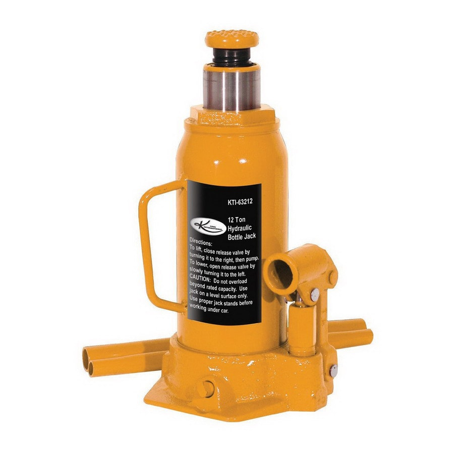 K Tool International 12-Ton Hydraulic Bottle Jack