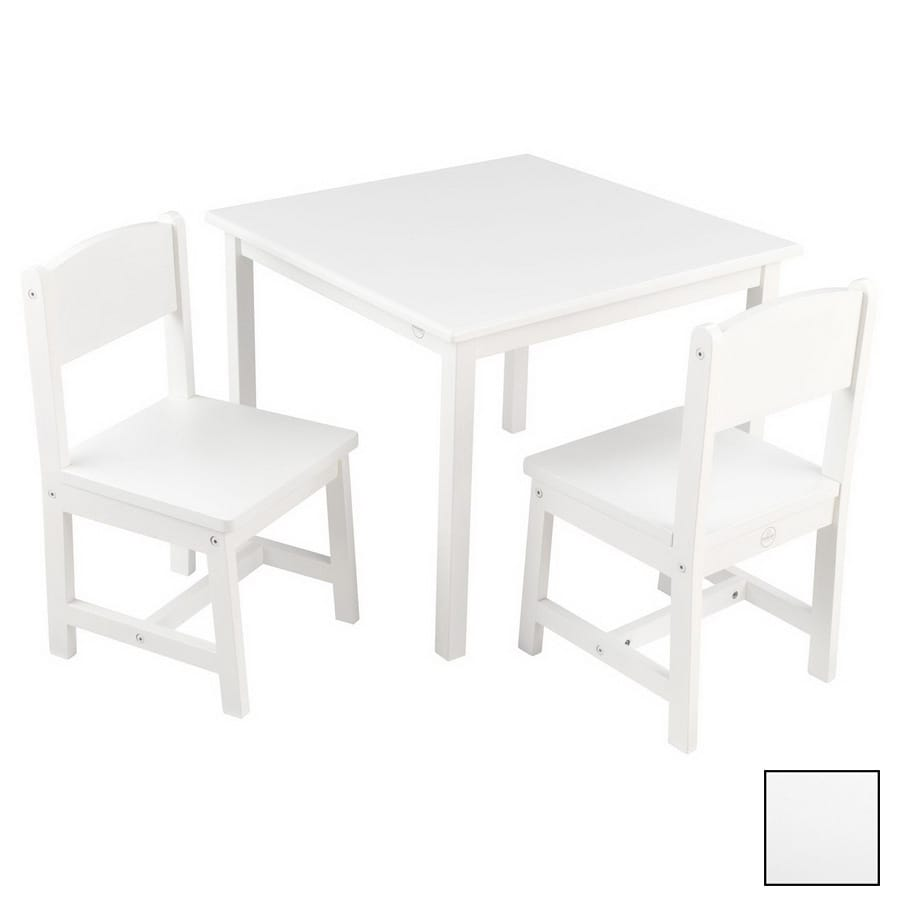 Shop KidKraft Aspen White Square Kid\'s Play Table at Lowes.com