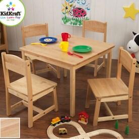 KidKraft Farmhouse Natural Square Kidu0027s Play Table