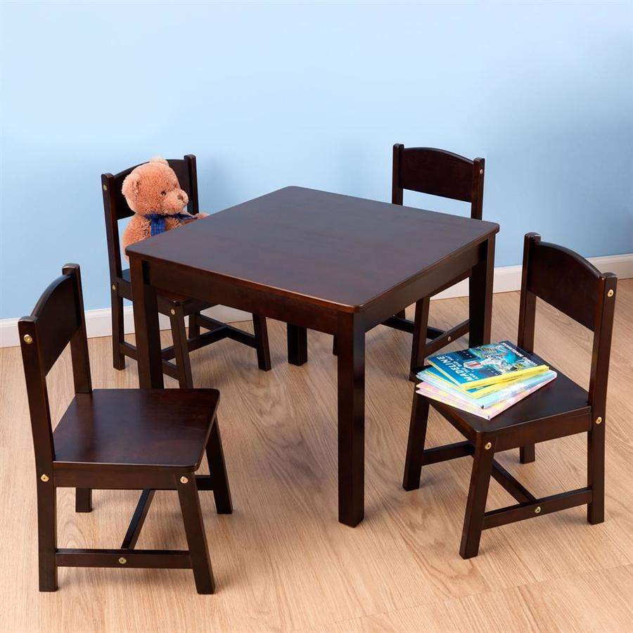 KidKraft Farmhouse Espresso Square Kid's Play Table