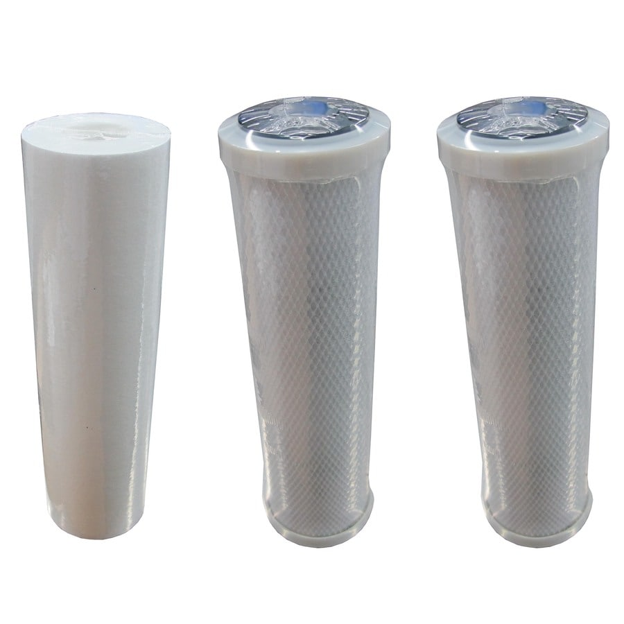 Whirlpool 3-Pack Standard Reverse Osmosis Under Sink Replacement Filter