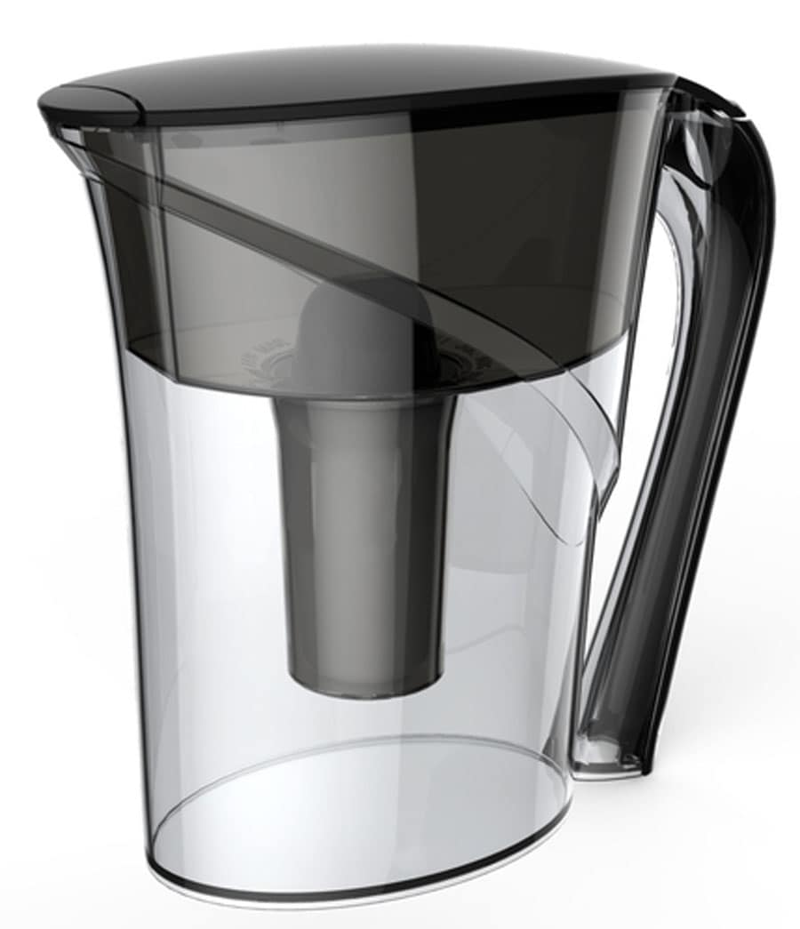 Idylis Water Filtration Black Pitcher