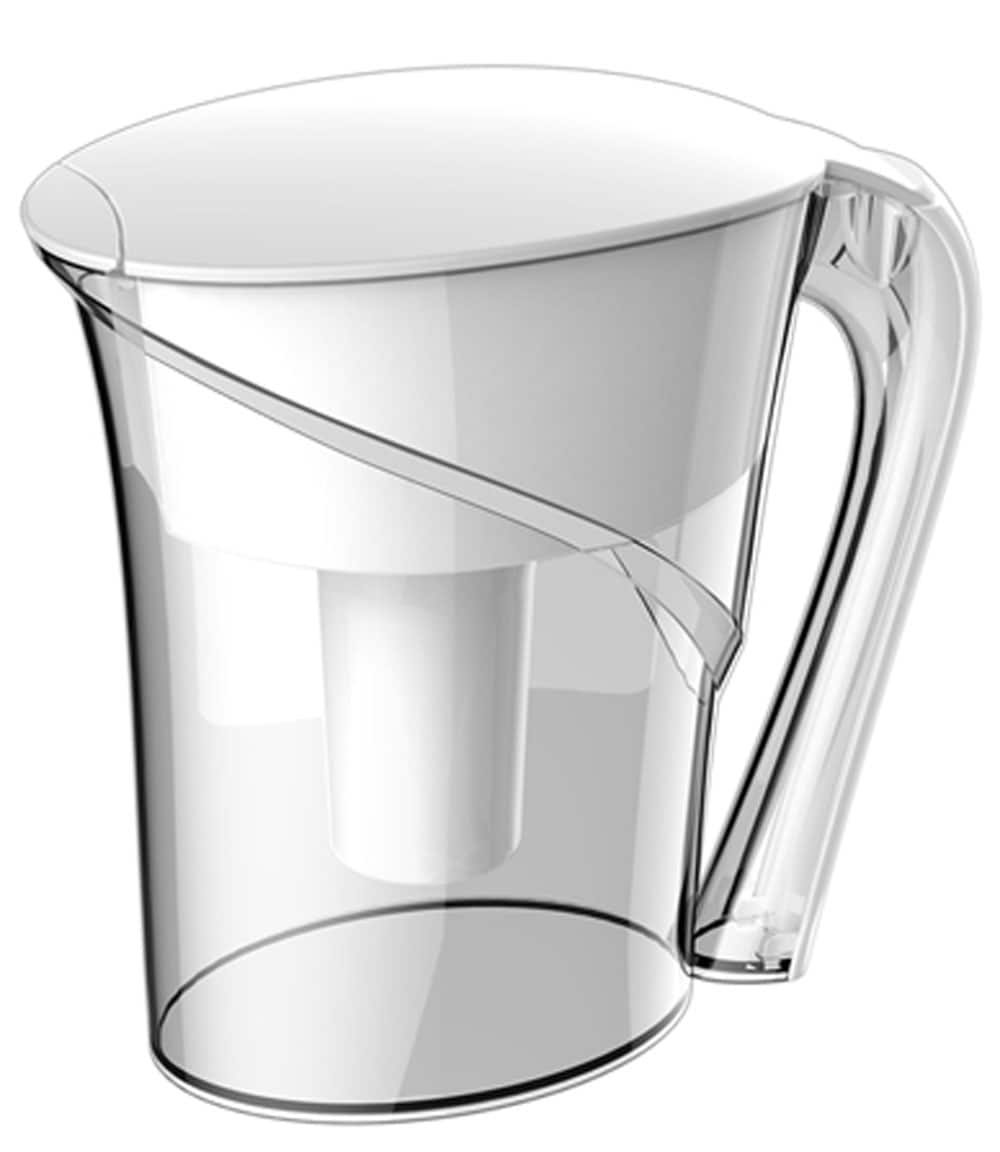 Idylis Water Filtration White Pitcher