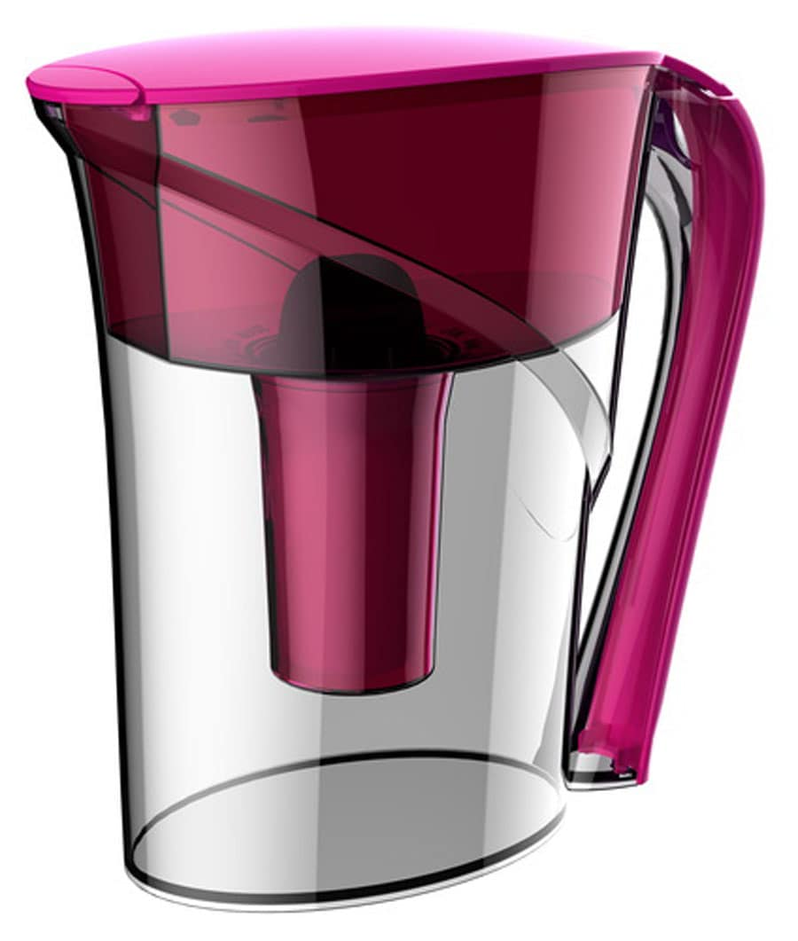 Idylis Water Filtration Magenta Pitcher