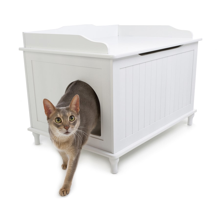 Shop Designer Pet Products White Litter Box at Lowes.com