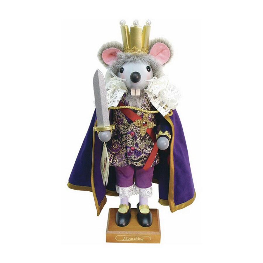Alexander Taron Wood Mouse King Nutcracker Ornament